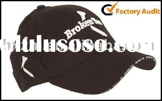 2011 HOT Sale Top quality embroidery golf caps
