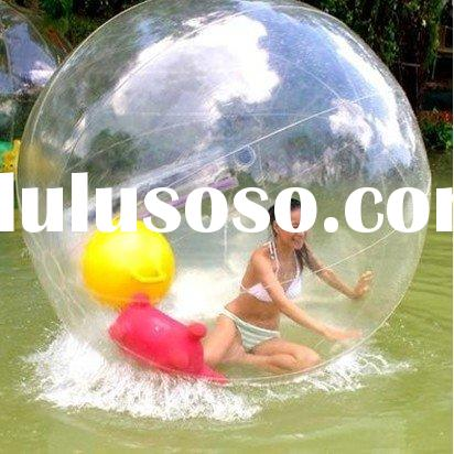 2011 HOT water zorbing ball with Quality Zipper