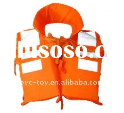 2011 hot sale PVC inflatable air life jacket for kids
