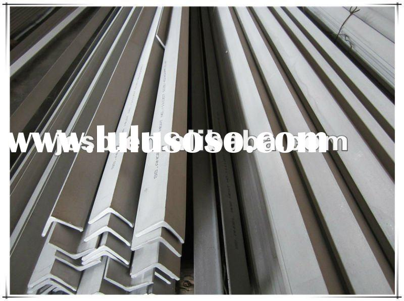 2012 hot sales stainless steel angle bar/steel angle /angle bar manufacturer direct sale
