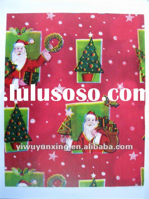 2012 new design for Christmas Gift Wrapping Paper