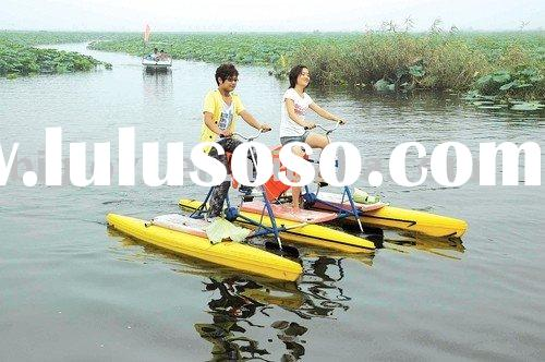 2012 the hottest products water bike, water bicycle,water cycle,bike in water, water amusement park