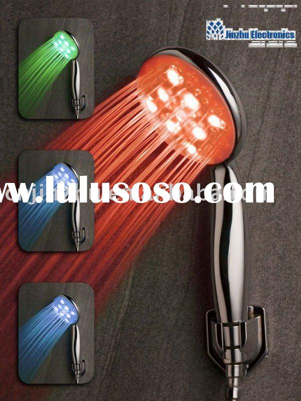 25leds temperature controlled led shower