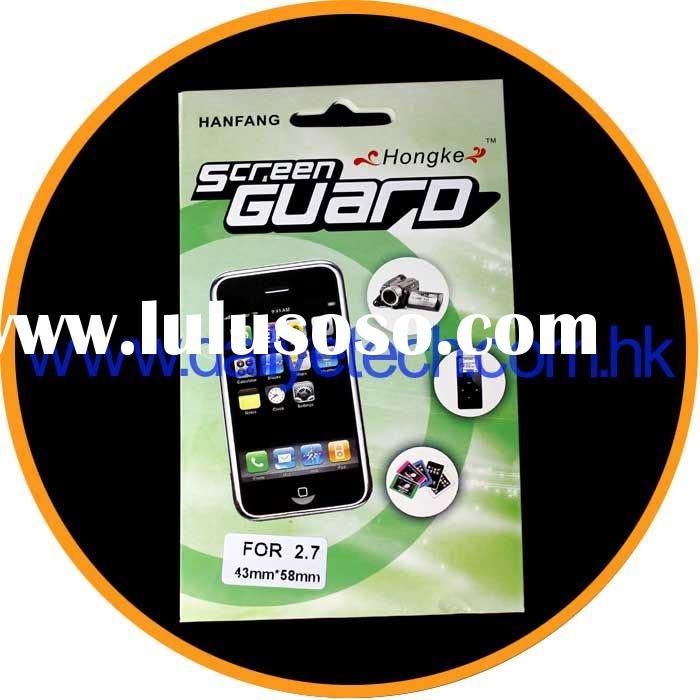"2.7"" LCD Screen Protector Film Guard For Digital Camera"