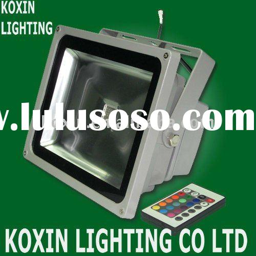 30W Color changing outdoor lights(USA Bridgelux led/ CE, RoHS)
