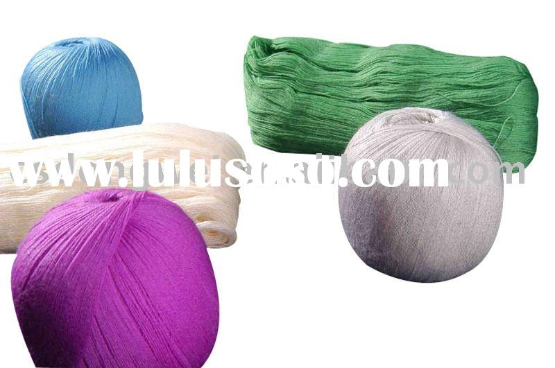 48s/2 50% wool 50% acrylic merino worsted wool/acrylic blended yarn with mercerized