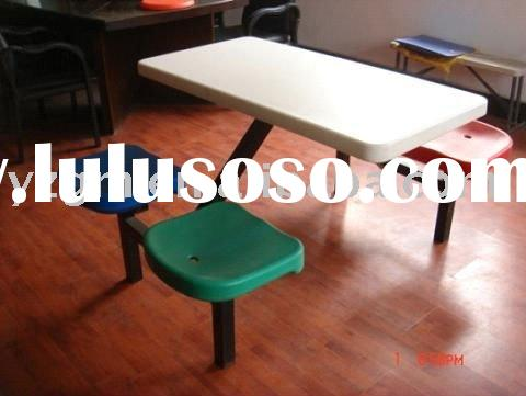 4 seats dining hall furniture,dinner table and chair,restaurant set