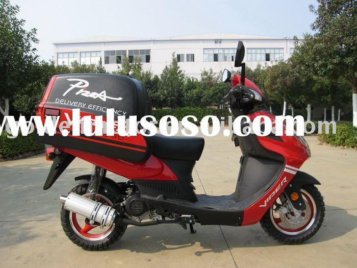 50/125/150cc eec scooter/moped,vepa,pizza scooter/ ,with attemperator top box