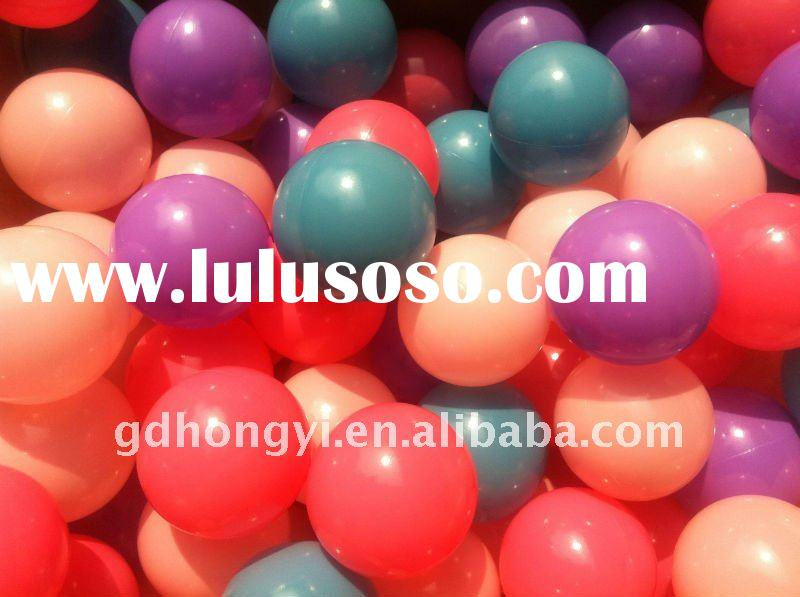 75mm inflatable ball pit balls