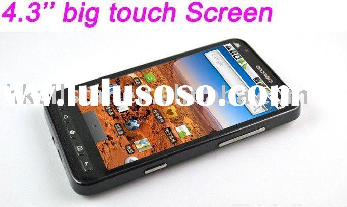 A2000 Quad Band Dual Sim Android 2.2 TV GPS 4.3 inch Touch Screen Smart Cell Phone