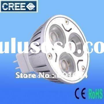 AC/DC 12V 9W High Power MR 16 led spot light bulb