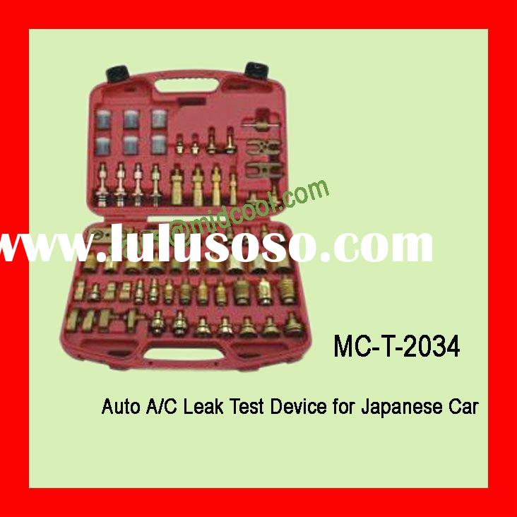Auto a/c leak test device for Japanese Car