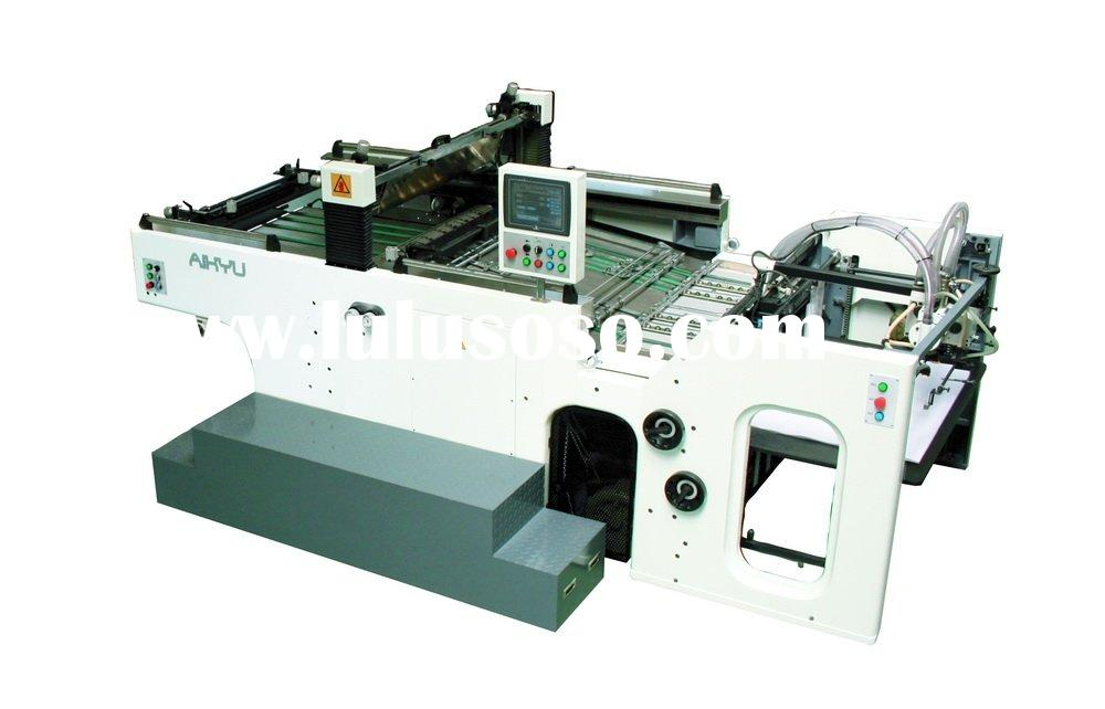 Automatic Stop-cylinder screen printing machine