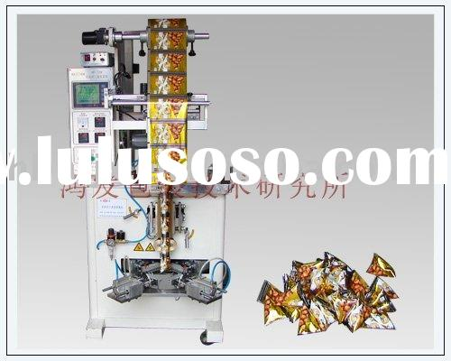 Automatic Triangle Bag filling sealing machine
