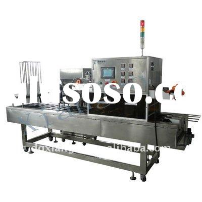 Automatic cup filling &sealing machine for soil bean/ milk/ fruit juice/mineral water