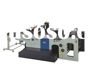 Automatic stop cylinder screen printing equipment