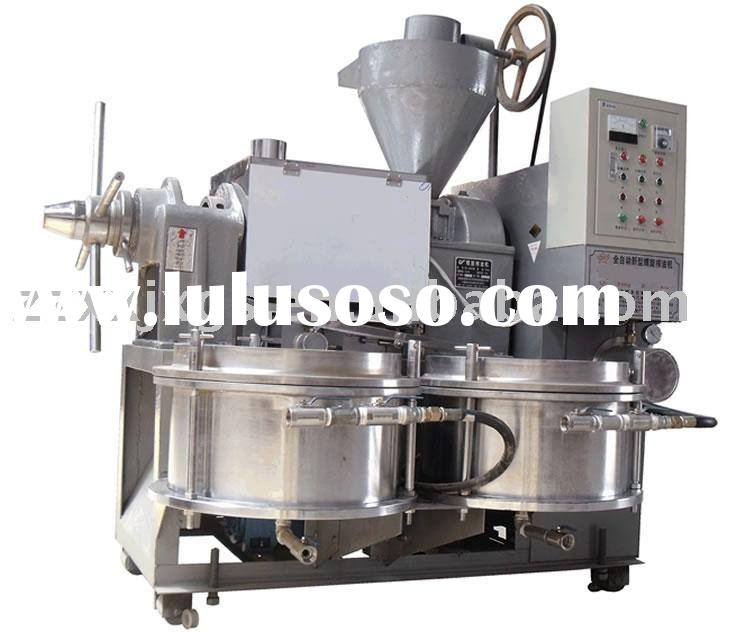 Automatic sunflower seeds oil mill