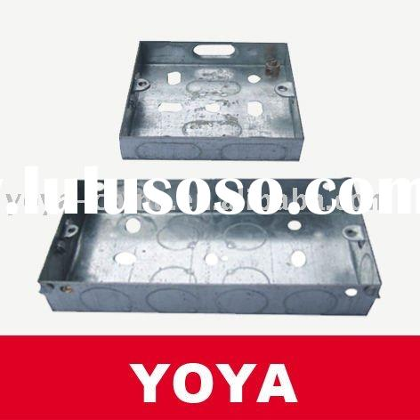 BS GI Electrical Metal Switch And Socket Box