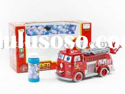 B/O Bump&go Hubble-bubble Fire Truck With light and music