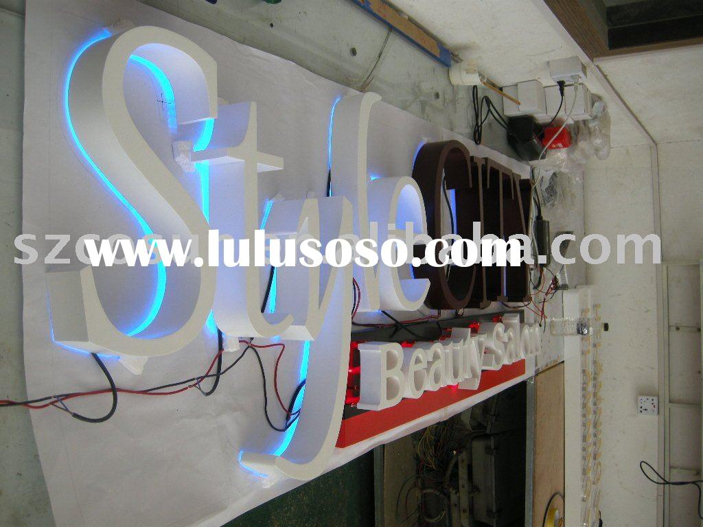 Backlit LED Channel Letter Sign