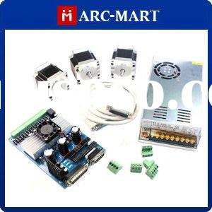 CNC Milling Kit 3 Axis Stepper Motor Driver Controller + NEMA 23 Stepper Motor *3 + Power Supply #UC