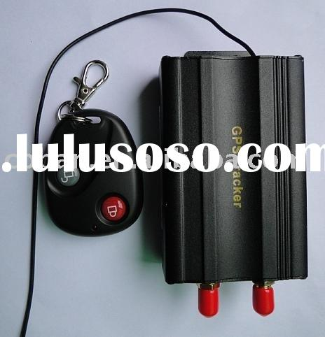 Car vehicle gps tracking device with remote control come with 12V relay optional function for 24V re