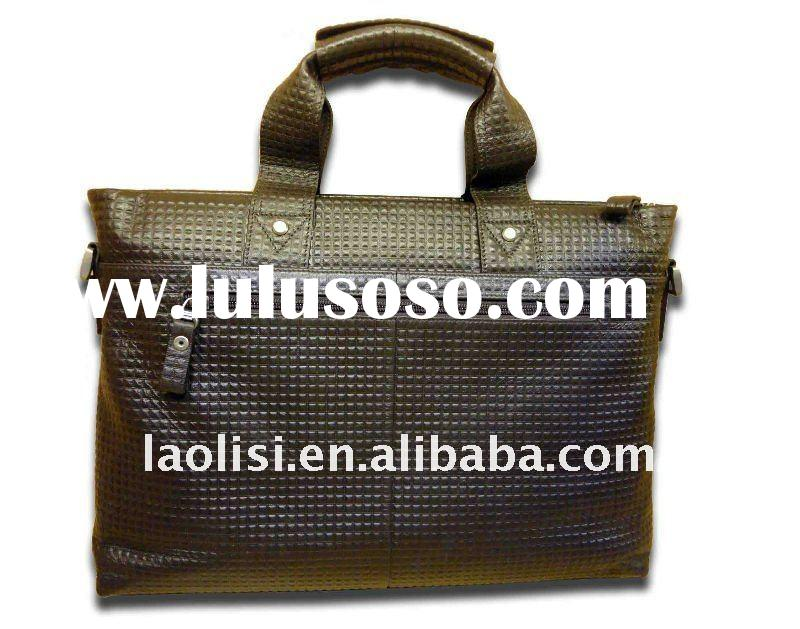 Classic genuine leather office bag for men