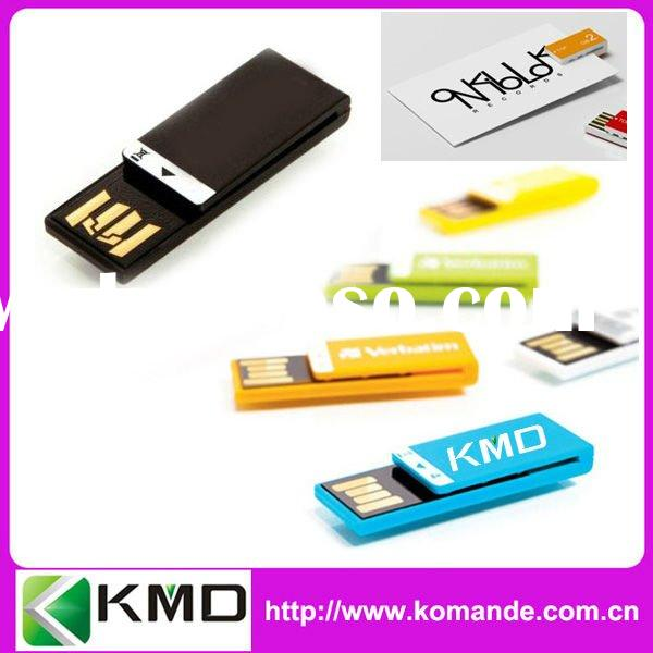 Colorful Mini Clip USB Flash Drive/Flash memory/USB Stick