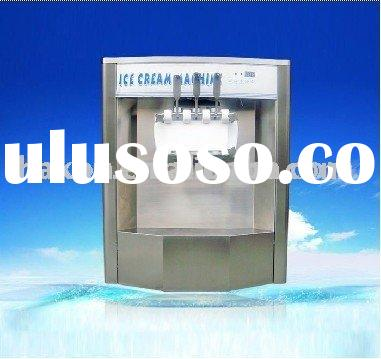 DURABLE AND GOOD soft serve ice cream machine with cone dispenser/mixed flavor