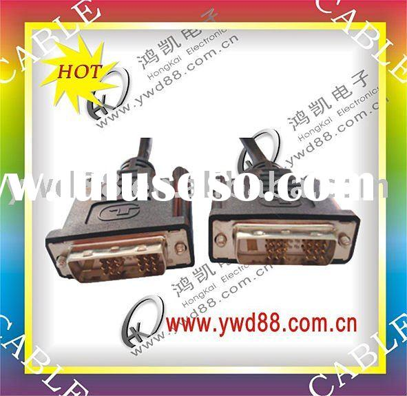 DVI CABLE SPLITTER DVI VIDEO CABLES DVI MONITOR CABLES 18+1 24+1 DVI-D DVI-A GOLD PLATED MINI DVI MI