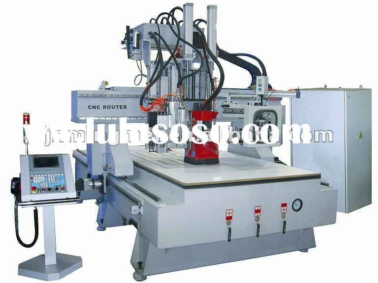Disk atc position wood cnc router engraving machine with drilling group MD1325