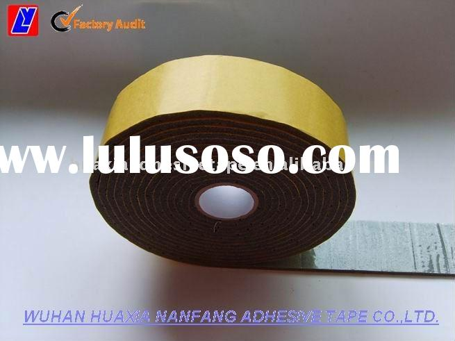 Double-side Auto harness Foam tape, with thickness of 3mm to 5mm
