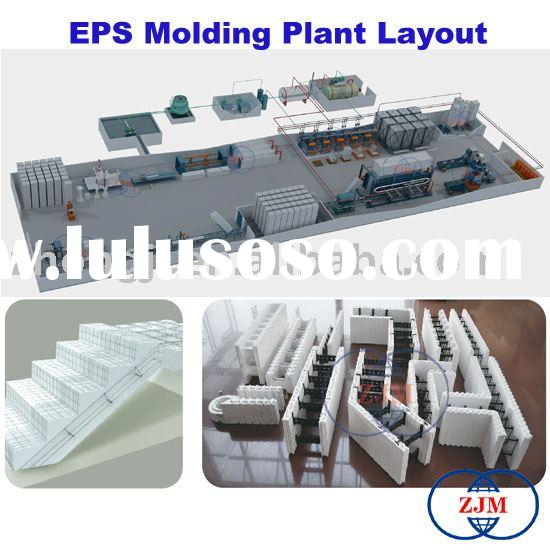 EPS Molding Plant Layout(EPS Production Line,EPS Machine,EPS Machinery)