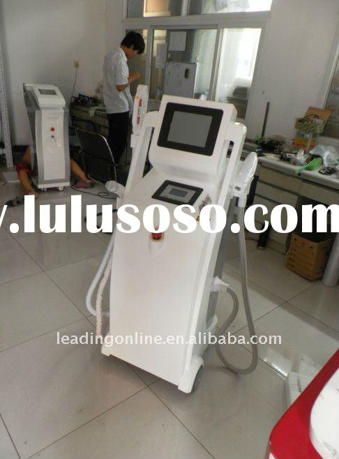 E-light IPL RF+ND yag laser multifunction beauty machine