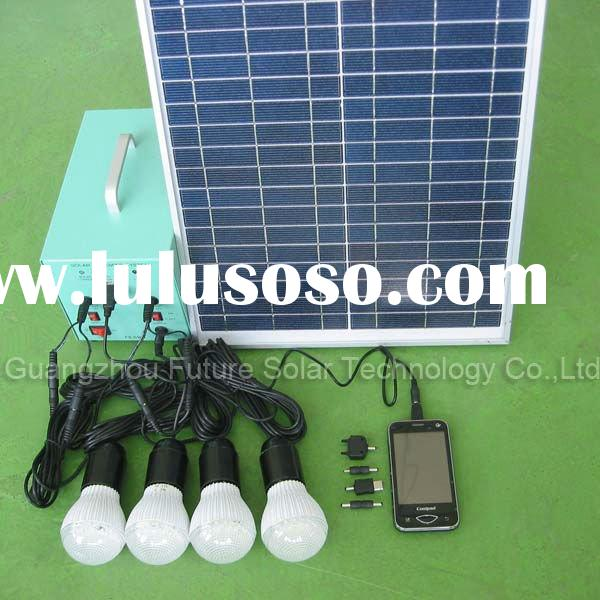 Easy to use mini solar home lighting system FS-S904