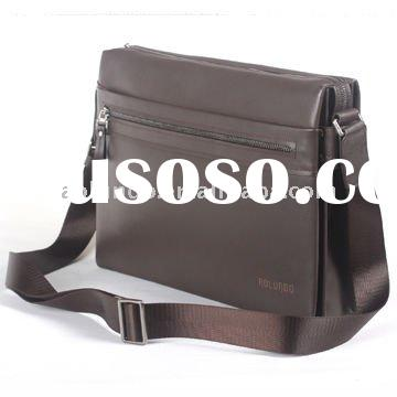Fashionable men's genuine leather office bags for men