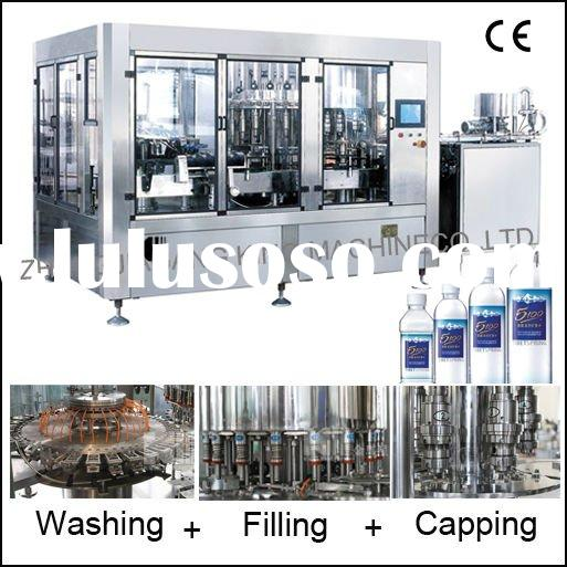 Full Automatic Water/Juice/Sparkling Water Bottling Machine