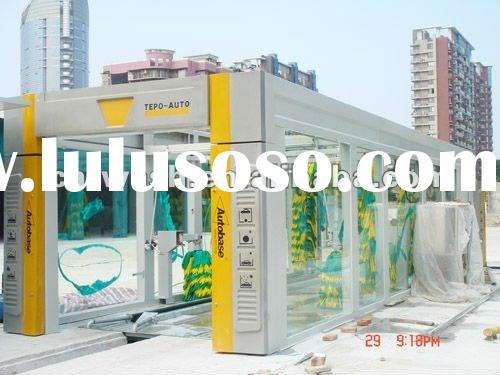 Fully Automatic Tunnel Car Wash Systems:TEPO-AUTO TP-901