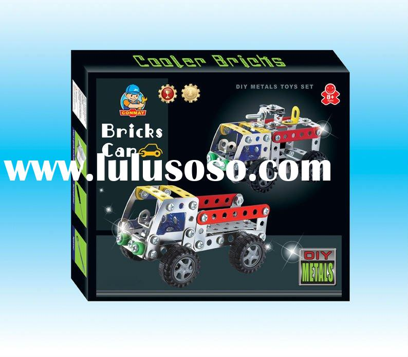 Funny Metal Intelligent DIY Model Car Toy BW072188