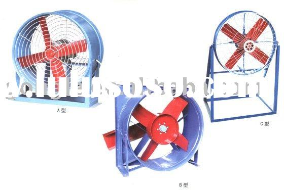 GL series small cooling fan with high quality cast iron blade