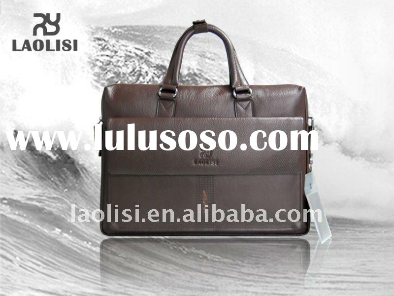 Genuine leather office bags for men