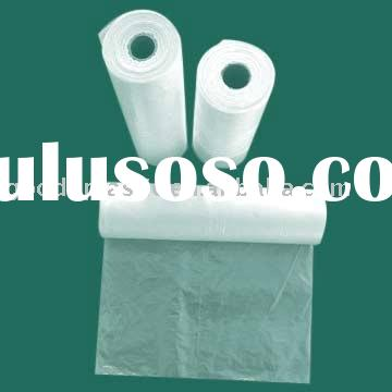 HDPE roll plastic bag