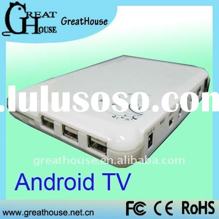 HD Google Andriod 2.2 TV Support WiFi,Web Browse