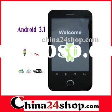 High End A3000 3.2 Inch Quad Band Google Android 2.1 OS Smart Cell Phone With WIFI GPS TV For Busine
