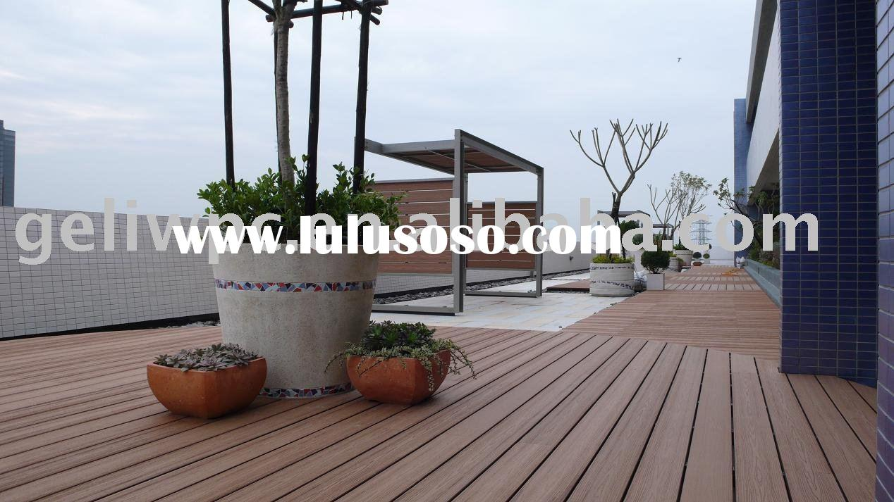 High Quality WPC/Wood Plastic Decking Outdoor
