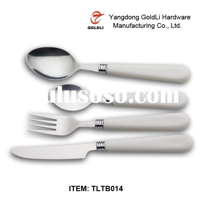 High Quality stainless steel spoon knife forks set TLTB014