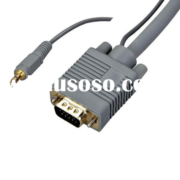 High-end vga audio cable