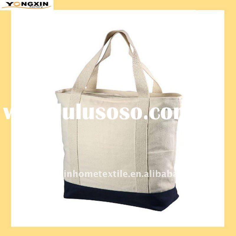 High quality canvas Armada Zipper Tote Bag (YXSPB-1109179)