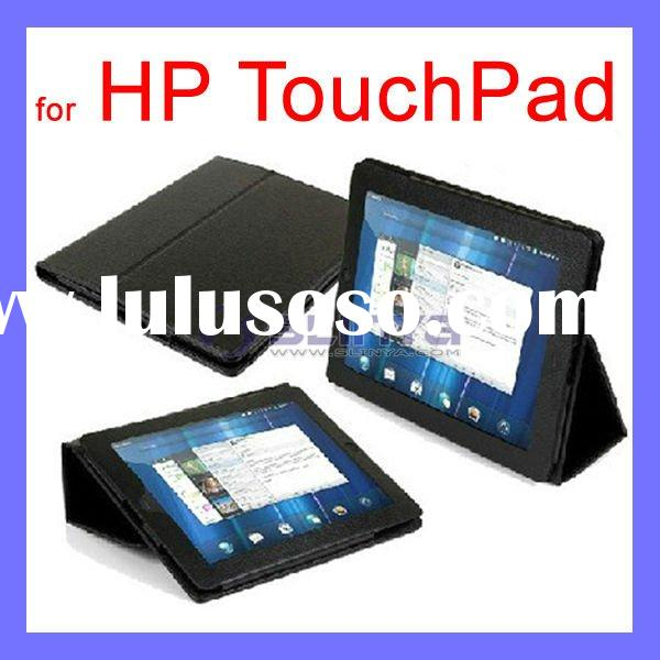 """Hot !!!Black Leather Cover Case 9.7"""" for HP Touchpad Laptop Computer"""