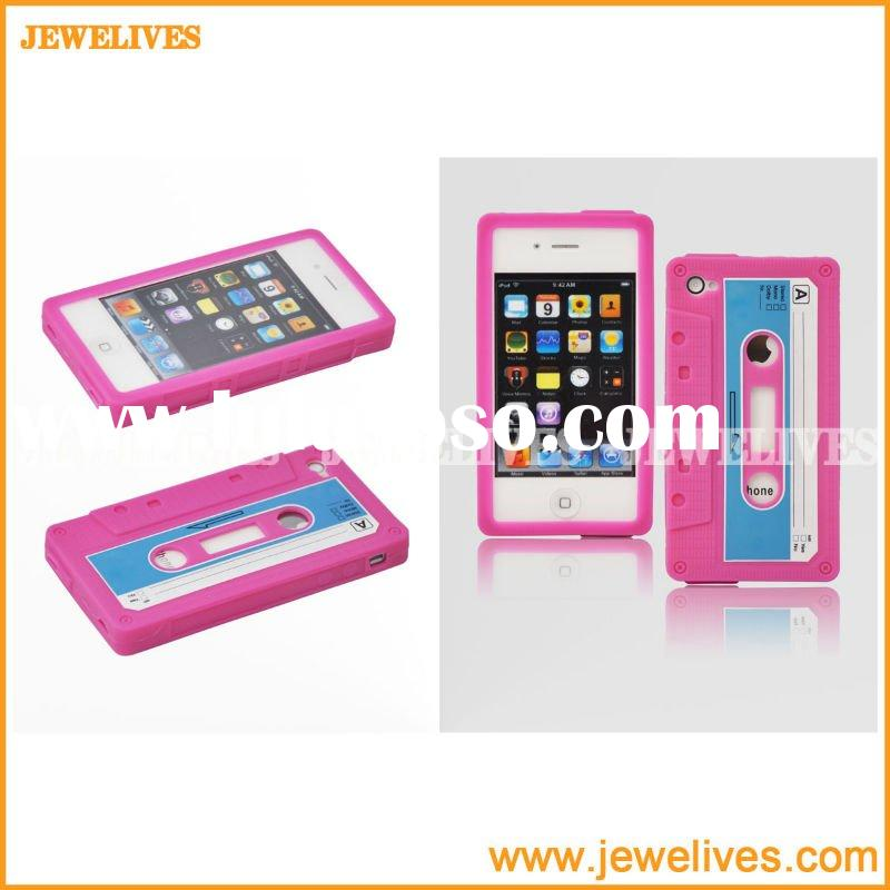 Hot Selling Silicone Skin Cover for iphone 4